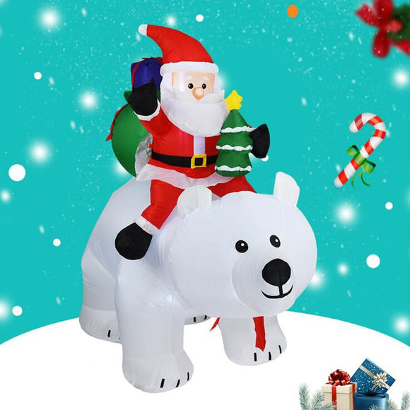 LED Inflatable Santa Claus 1.8m