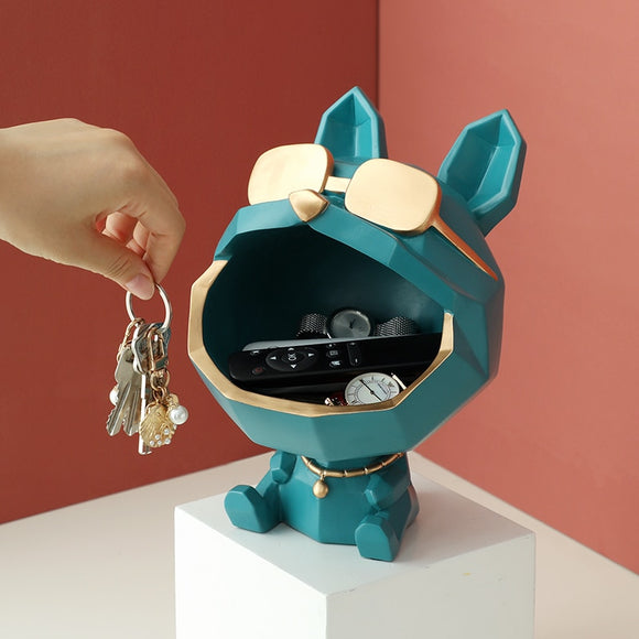 Cool dog Figurine big mouth
