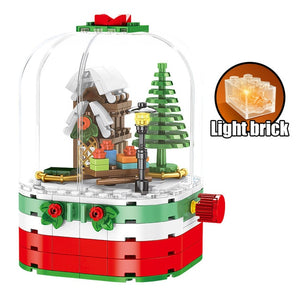 Santa Claus Building Blocks