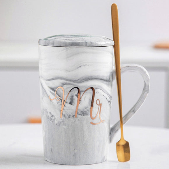 Marble Pattern Cup