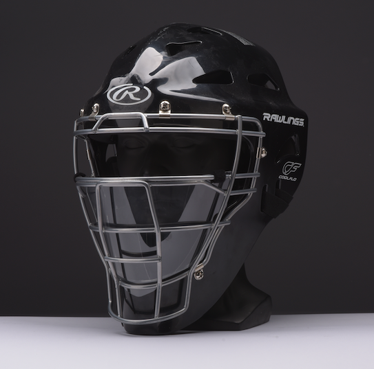 Baseball 1.0 - Hockey Goalie Style Catcher /Umpire Helmet Shield
