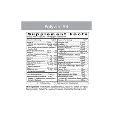 Load image into Gallery viewer, Polyvite-AB Professional Multi-Vitamin 120 Veggiecaps