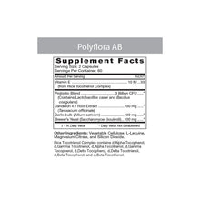Load image into Gallery viewer, Polyflora-AB Professional Probiotic 120 Veggiecaps