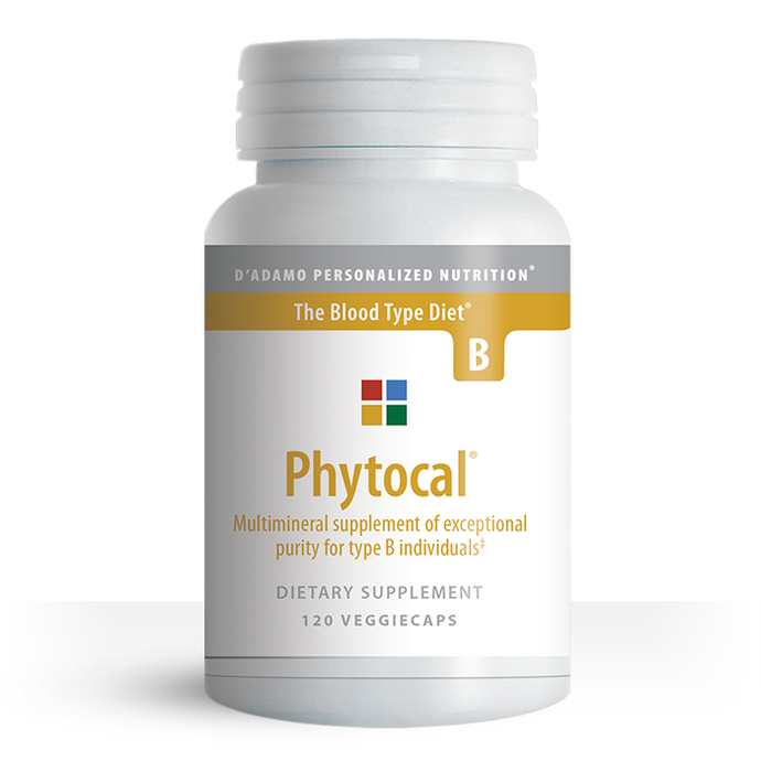 Phytocal-B Mineral Formula 120 Veggiecaps