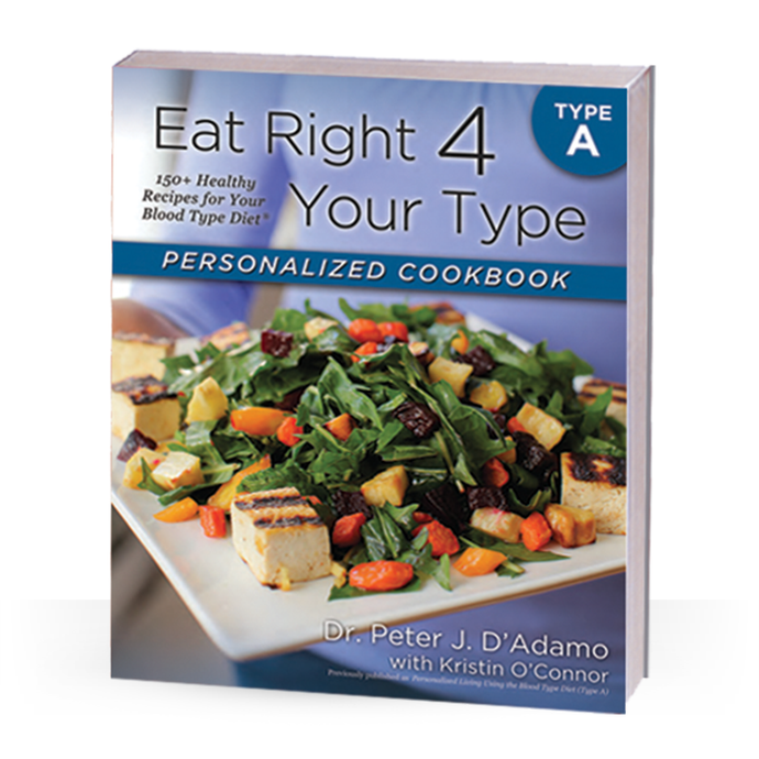 Personalised Cookbook Type A
