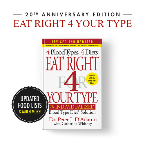 Eat Right 4 Your Type NEW Edition
