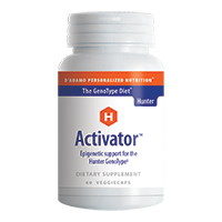 Activator Right for your GenoType Hunter GT1 60 Veggiecaps DISCONTINUED