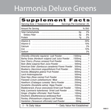 Load image into Gallery viewer, Harmonia Deluxe Greens Drink Mix 198g