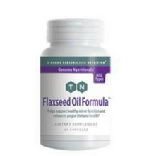 Load image into Gallery viewer, Flaxseed Oil Formula 60 Veggiecaps DISCONTINUED