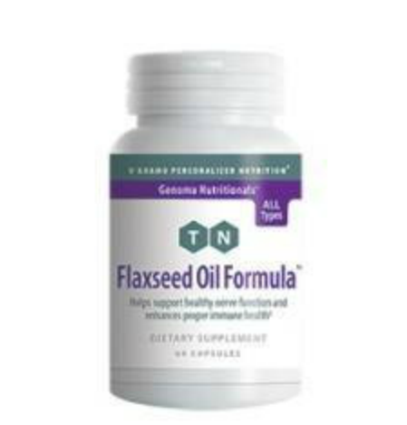 Flaxseed Oil Formula 60 Veggiecaps DISCONTINUED