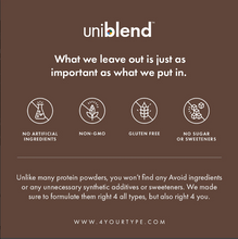 Load image into Gallery viewer, Uniblend Protein Powder - Cocoa