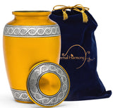 Adult Urn in Gold