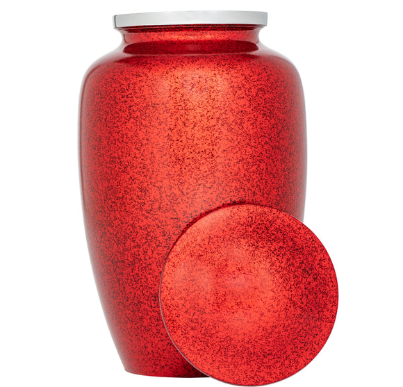 Adult Urn in  Classic Red