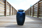 Adult Urn in  Navy Blue