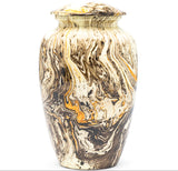 Adult Urn in Gold Milo