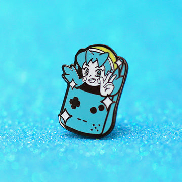 TRAINER CRYSTAL ✦ ENAMEL PIN