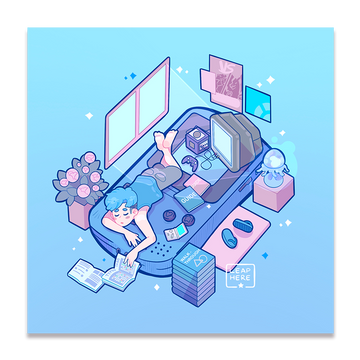 DREAMBOY ROOM ✦ PRINT