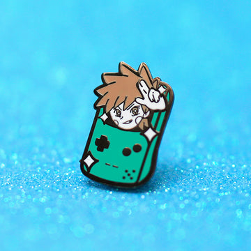 TRAINER GREEN ✦ ENAMEL PIN