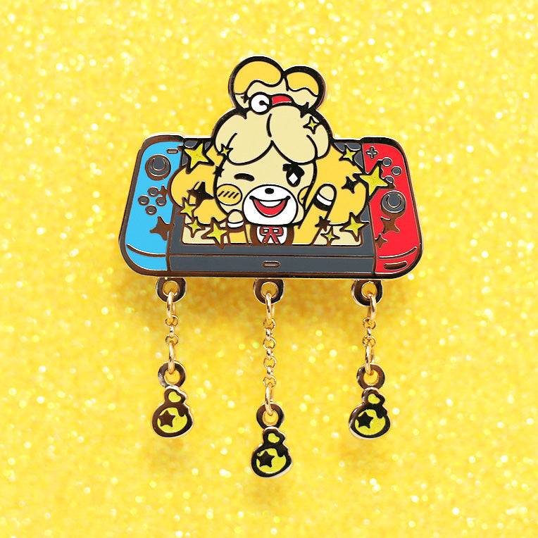 SHINY PUP ✦ ENAMEL PIN