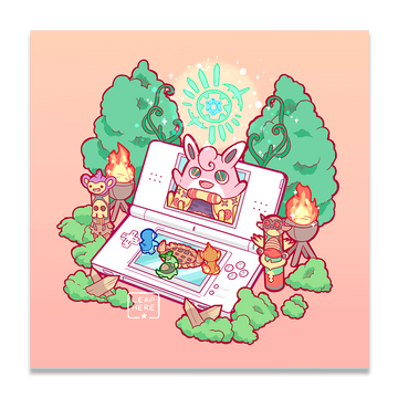 MYSTERY DUNGEON ✦ PRINT