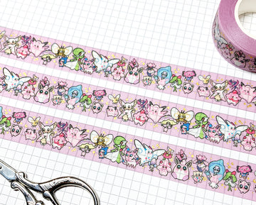 POKÉTYPE FAIRY ✦ WASHI TAPE