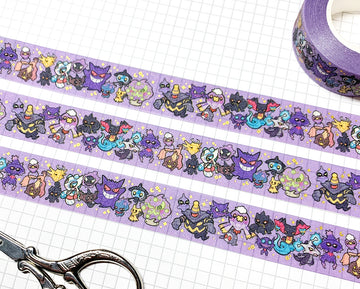 POKÉTYPE GHOST ✦ WASHI TAPE