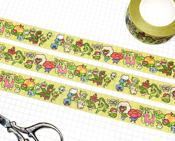 POKÉTYPE GRASS ✦ WASHI TAPE