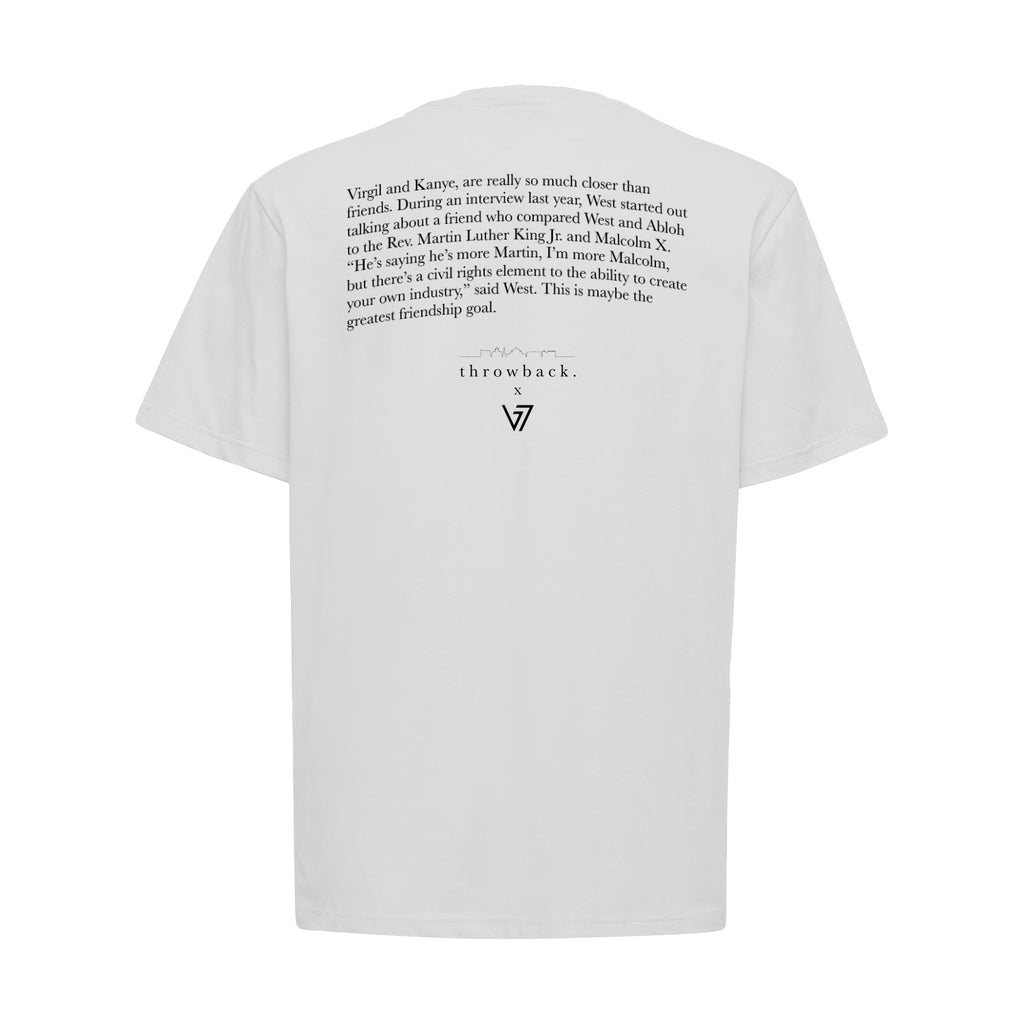 3B7 VIRGIL WHITE T-SHIRT