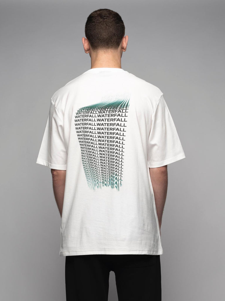 M01 WATERFALL WHITE T-SHIRT