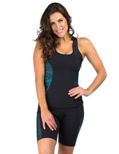Load image into Gallery viewer, Heat Maximizing Full Coverage Racer-back Tank - Mystic Blue