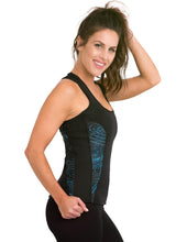Load image into Gallery viewer, Heat Maximizing Full Coverage Racer-back Tank - Mystic Teal