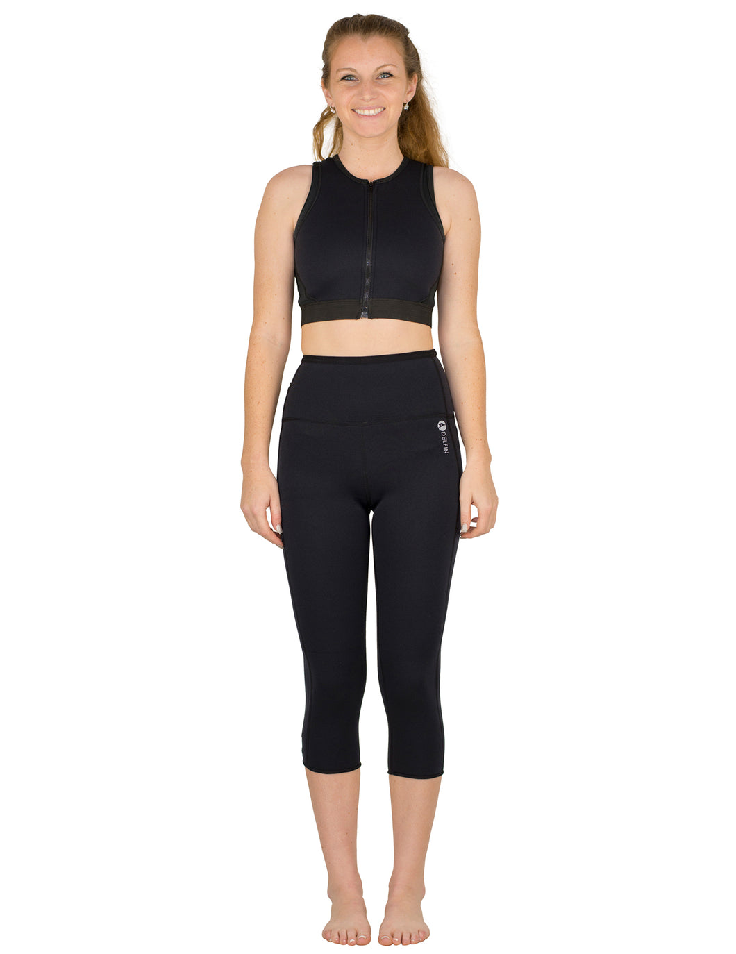 Heat Maximizing Capris - Black