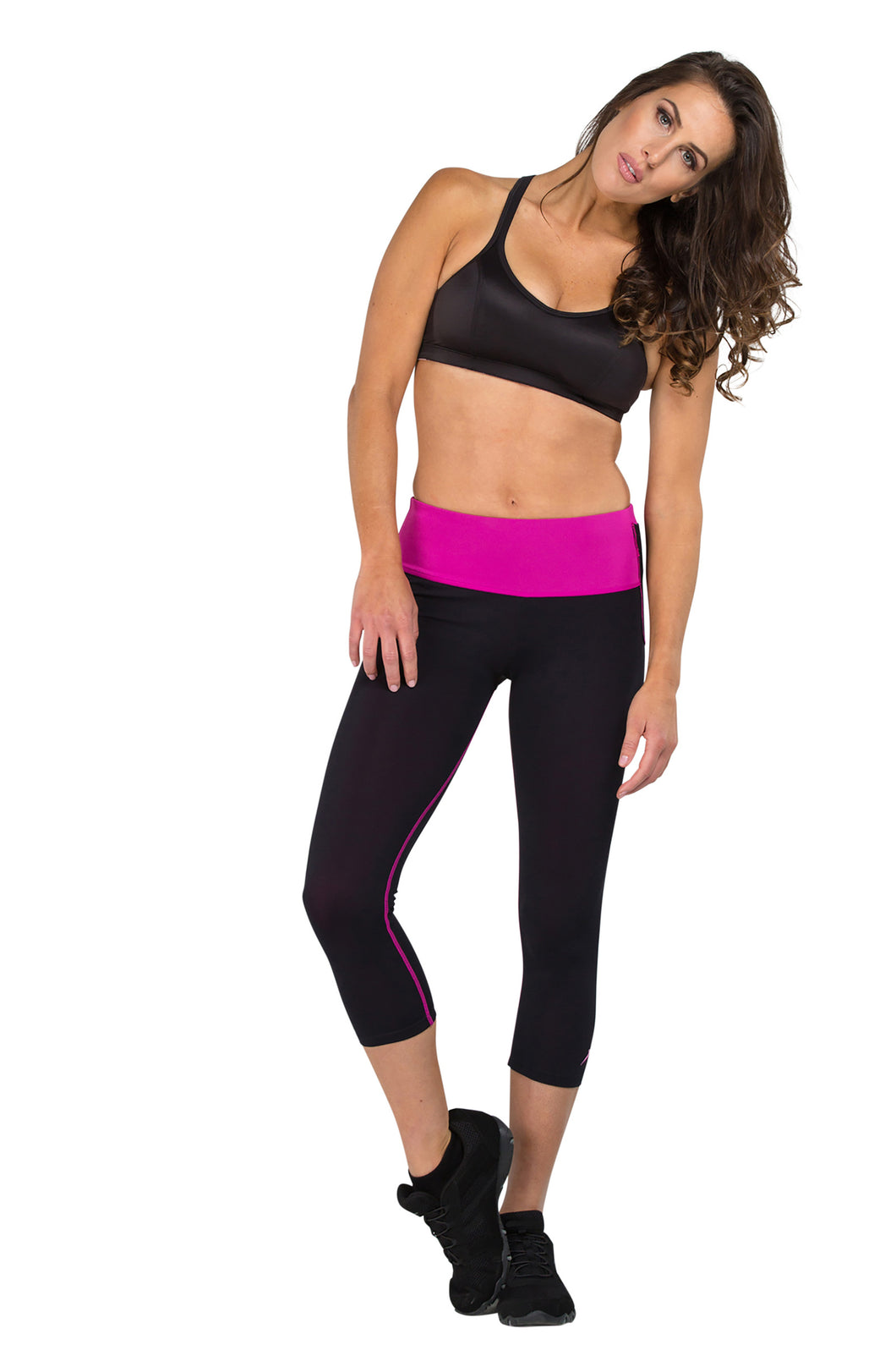 Mineral Infused Capris - Pink