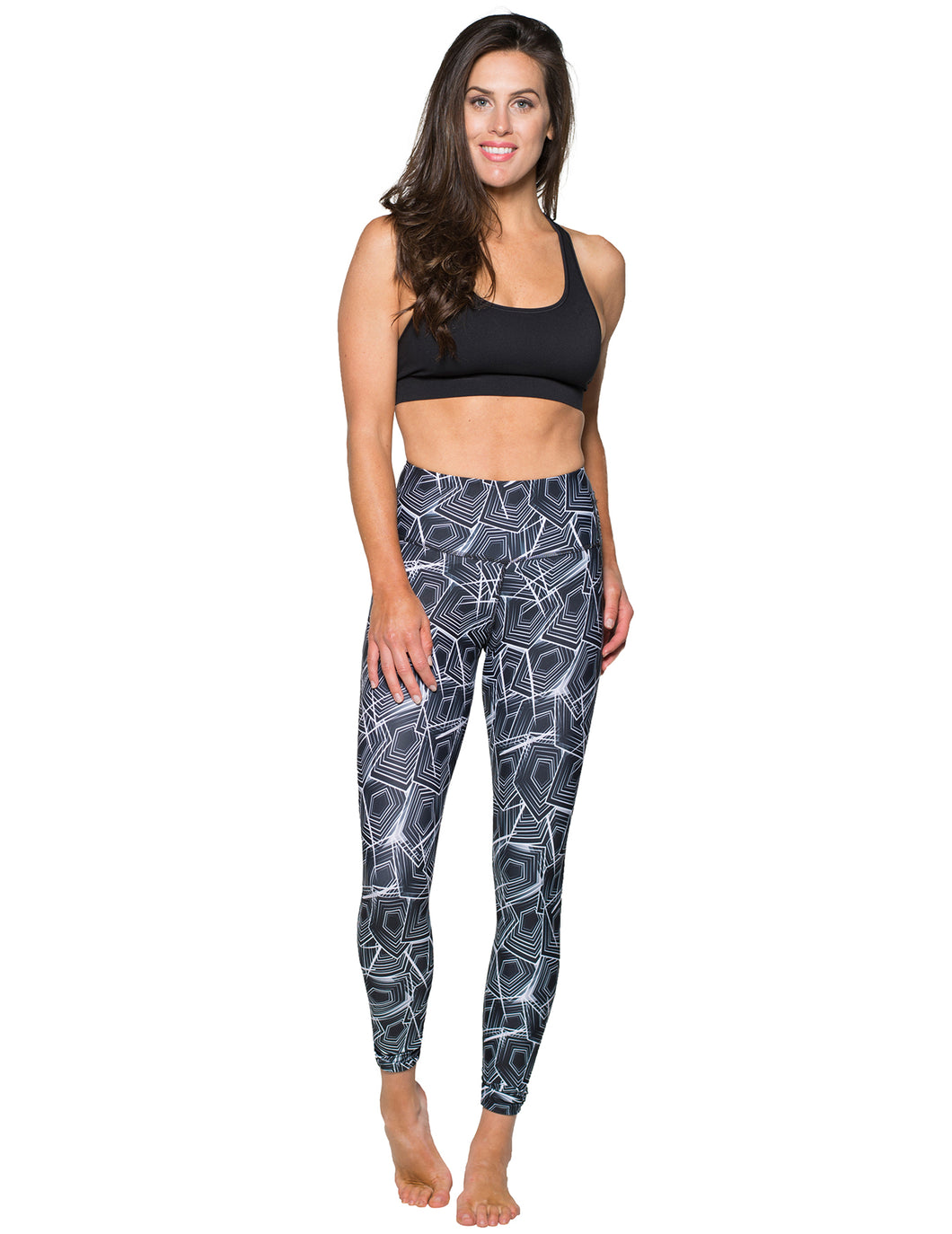 Luxe Mineral Infused Leggings - Mystic Maze