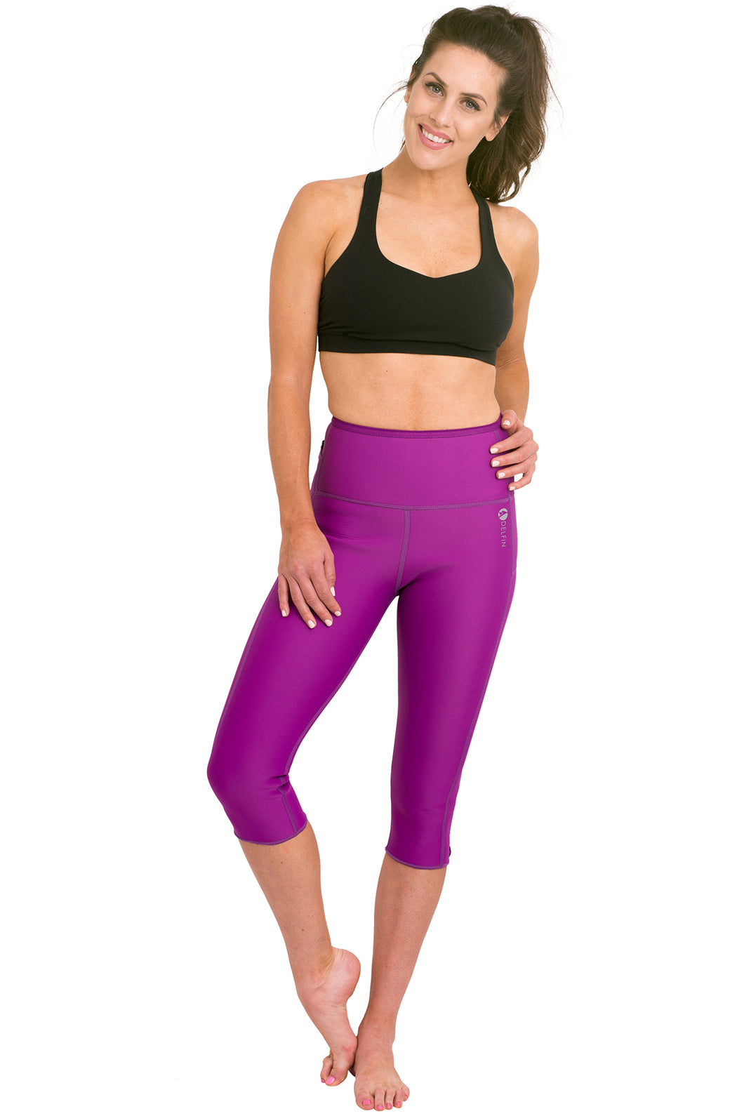 Heat Maximizing Capris - Purple
