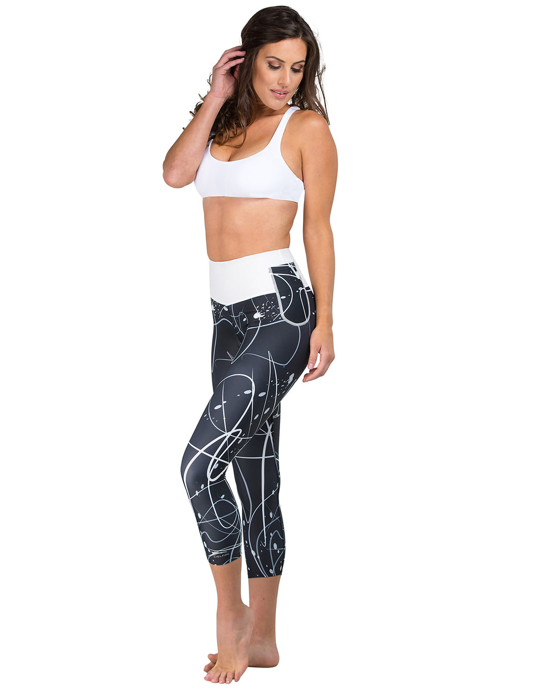 Luxe Mineral Infused Capris - Swash
