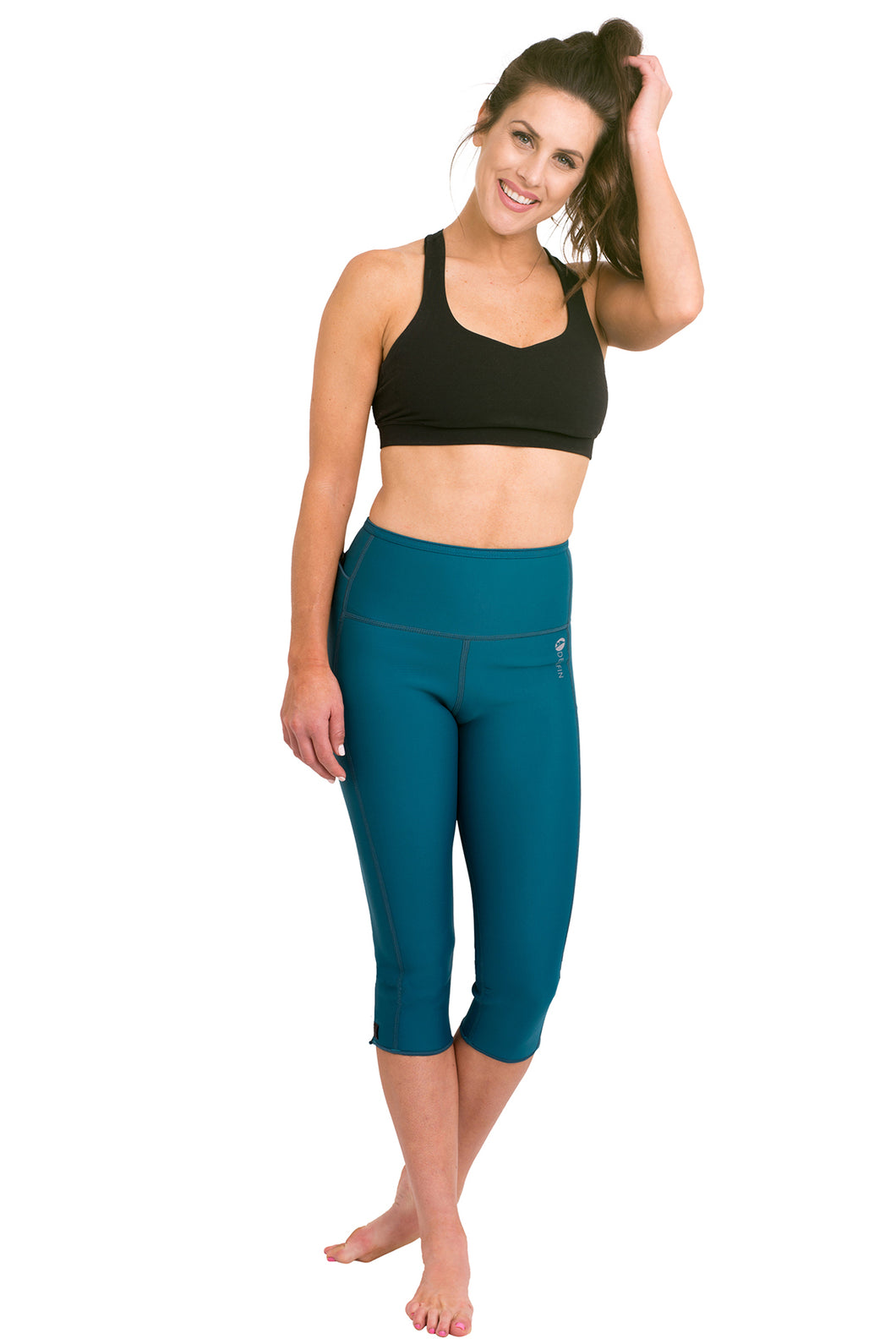 Heat Maximizing Capris - Teal
