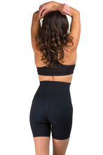 Load image into Gallery viewer, Mineral Infused High Waist Exercise Shorts - Black