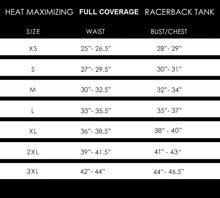 Load image into Gallery viewer, Heat Maximizing Full Coverage Racer-back Tank - Black