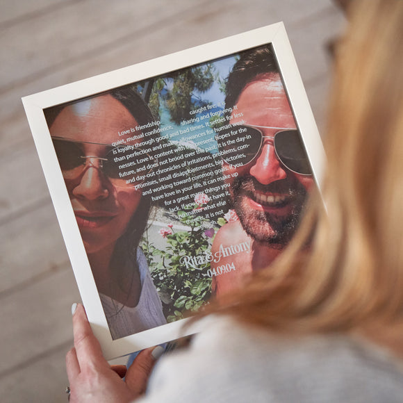 Personalised Photo Box Frames