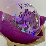 Personalised Bubble Bloom Balloon Bouquet