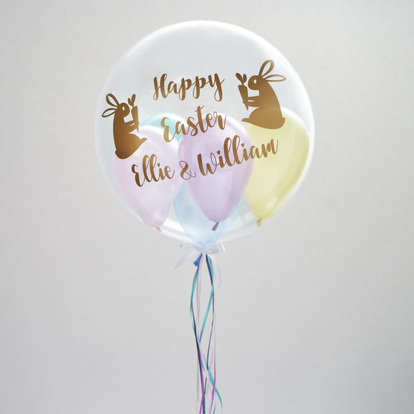 Personalised Easter Gumball Balloon