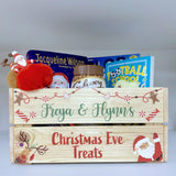 Personalised Candy Christmas Eve Crate Box