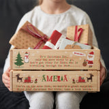 Personalised Poem Christmas Eve Crate Box