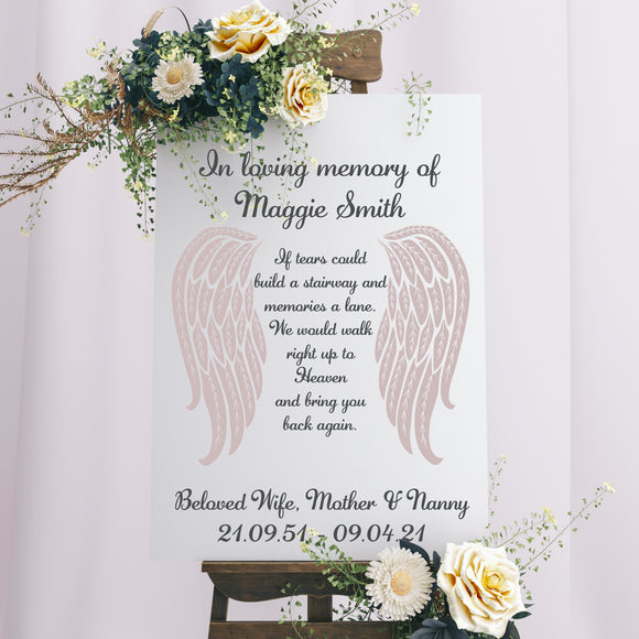 Memorial Personalised Sign