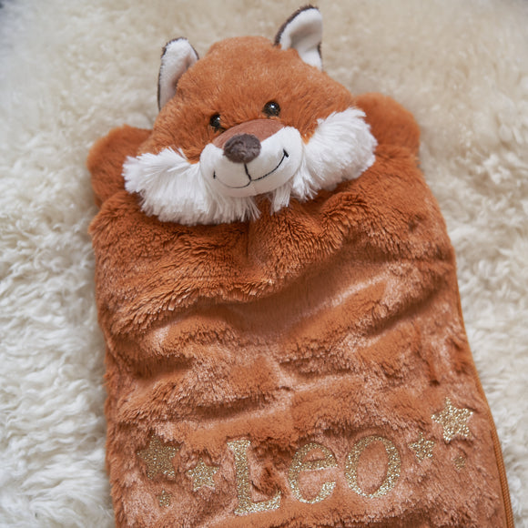 Personalised Fox Pyjamas Case