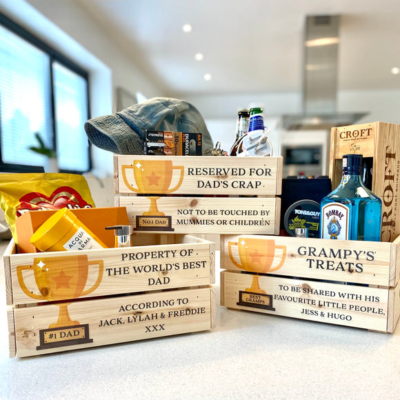 The Champ - Personalised Father's Day Crate