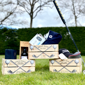 The Golfer - Personalised Father's Day Crate