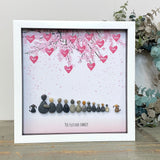 Personalised Blossom Branch Pebble Picture