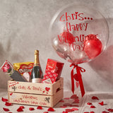 *SOLD OUT* Personalised Valentines Gumball Confetti Bubble Balloon
